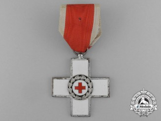 A German Red Cross Honour Cross; 2nd Class (1953-1990)