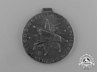 A Scarce 1943 German Wartime Christmas Medal for Front Soldiers in Greece