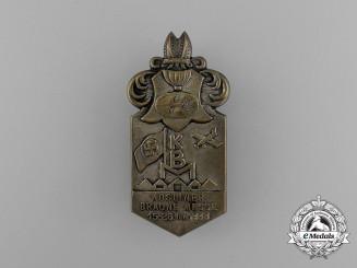 A 1933 Kösliner Braune Messe (Jewish Merchant/Goods Boycott Fair) Badge