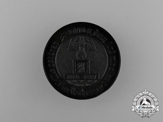 A 1936-1937 Winter Relief of the German People District Kurhessen Donation Badge
