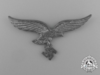 A Luftwaffe Officer's Visor Cap Eagle; RZM Marked