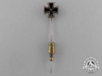 A Miniature Iron Cross 1939 Second Class First Class by Otto Schickle