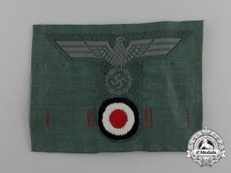 A Mint Wehrmacht Heer (Army) Field Cap Insignia