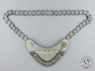 A Feldgendarmerie (Army Military Field Police) Gorget