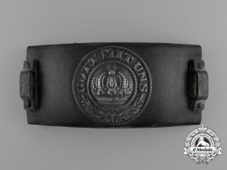 A First War German Telegrapher's Belt Buckle