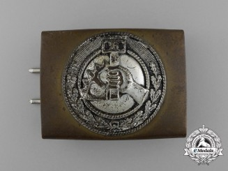 An NSBO (National-Socializtische Betriebs Organisation) Belt Buckle by Overhoff & Cie