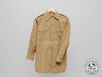 A Second War German French Style Tropical Field Blouse