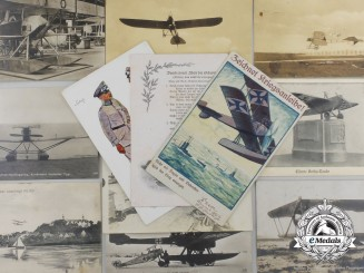 A Lot Of Thirteen Imperial German First War-Era Aviation Postcards