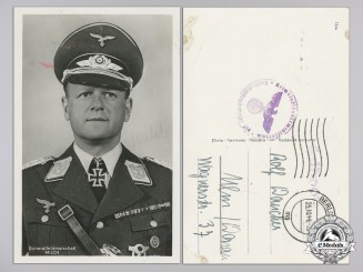 A Generalfeldmarschall Erhard Milch with his Original Signature