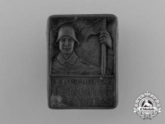 """A 1926 Derschlag """"Germany Day"""" Celebration Badge"""