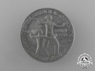 A 1938 DAF Region Würtemberg-Hohenzollen Vacation Badge by Mayer & Wilhelm