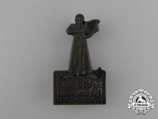 A 1935 Second Saxon Singer's Festival Badge