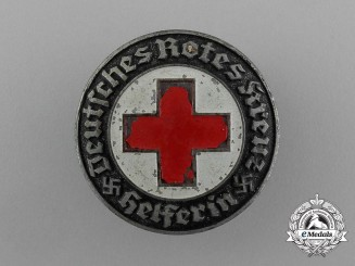 A DRK German Red Cross Helper's Staff Badge