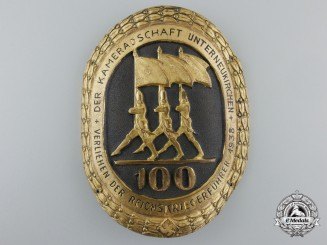 A Second War Period German Veteran's Arm Badge 1938