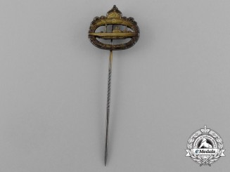 A First War German Imperial Naval Submarine Badge Miniature Badge