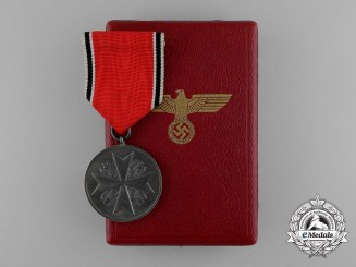 A German Eagle Order Silver Medal by the Official Berlin State Mint in its Original Case of Issue