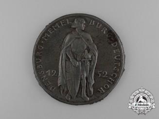 A Rare 1939 Return of the Port of Memel Commemorative Medal