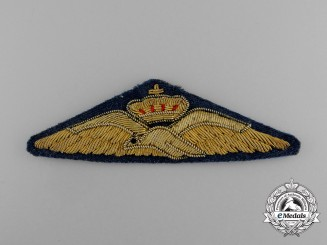 A Royal Hellenic Air Force (RHAF) Pilot Badge