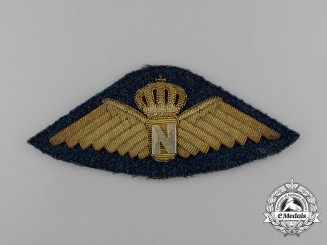 A Royal Danish Air Force Navigator Badge