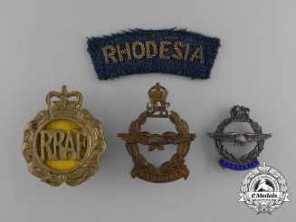 Four Royal Rhodesian Air Force (RRAF) Items