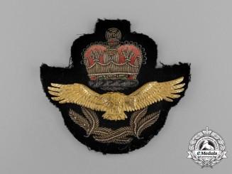 A Royal Rhodesian Air Force (RRAF) Officer's and Senior NCO's Cap Badge