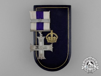A First War GV Military Cross with Bar