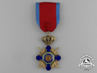 An Order of the Star of Romania; Officer, Type II (1932-1946)