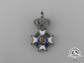 Greece, Kingdom. An Order of the Redeemer, Miniature