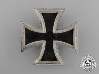 An Iron Cross 1939 First Class by C. F. Zimmermann of Pforzheim