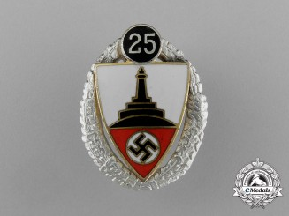 A Mint 25-Year Kyffhäuser Veteran's Organization Stick Pin by Deschler & Sohn