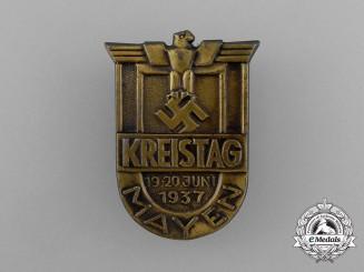 A 1937 Mayen District Council Day Badge