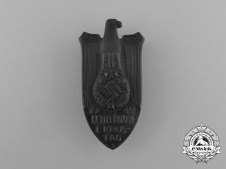 A 1942 Echternach District Council Day Badge by Ziemer & Söhne