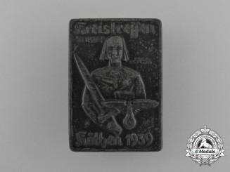 A 1939 NSDAP Köthen District Council Meeting Badge