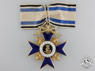 A Bavarian Order of Military Merit; Second Class in Gold by Hemmerle