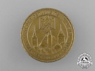 A 1939 NSRL Ostlausitz Sports Festival Badge
