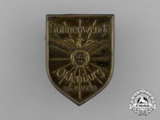 Germany, Third Reich. A 1933 Oldenburg Summer Solstice Badge