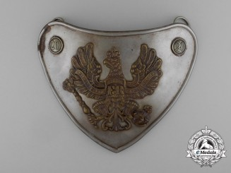 A Late 19th Century 20th Prussian Infantry Regiment of the Line Gorget