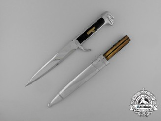 "A Second War Italian Fascist Militia ""Black Shirts"" Enlisted Man's Dagger"