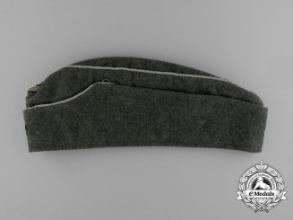 A 1941 Army (Heer) Officer's Side Cap by Willy Sprengpfeil, Hamburg