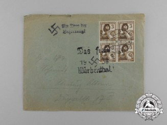 An Early Luftschutz / Annexation of the Sudetenland Envelope