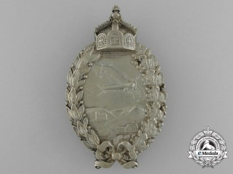 A Fine Quality First War Prussian Pilot's Badge; Type 1 by P. Meybauer of Berlin