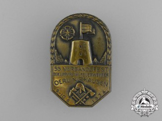 A 1934 55th Festival of the Volunteer Firefighter's of Oerlinghausen Badge