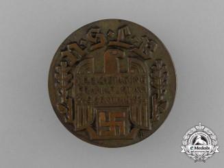 A 1934 NSLB Frankfurt Reichstagung Badge