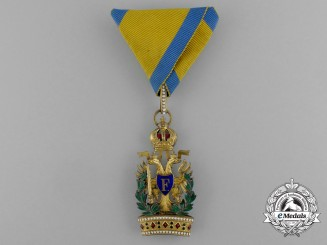 An Austrian Order of the Iron Crown; Knight