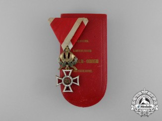 An Austrian Order of Leopold by Vinc Mayer with Case