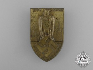 A 1933 Halle-Merseberg Gau Appell Badge