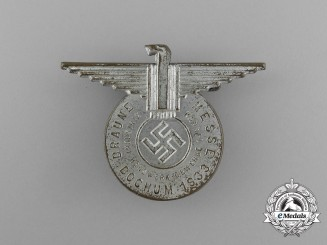 "A 1933 Bochum Braune Messe ""Commerce, Craftsmanship, Business, Industry"" Badge"