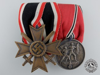 A Pair Second War German Awards