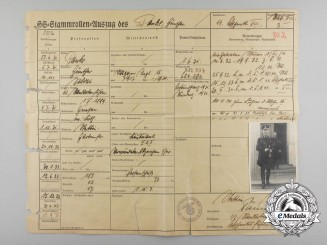 A Service Record of Standartenführer Günther Pancke; Higher SS & Police Leader of Denmark