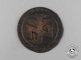 An Austrian National Socialist People's Welfare Organization Membership Badge